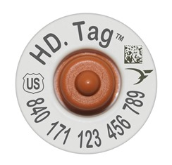 Official USDA '840' Cattle HD Tag Set (Destron Fearing)