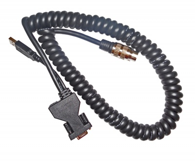 Portable Hand Held Data-Power Communication Cable