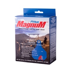 PYthon® Magnum Insecticide Ear Tag from Y-Tex