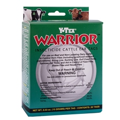 Warrior Insecticide Ear Tags from Y-Tex