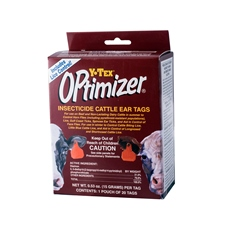 Optimizer® Insecticide Ear Tag from Y-Tex