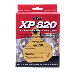 XP 820® Insecticide Ear Tags from Y-Tex
